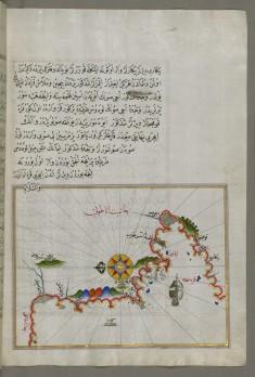 Map of the Anatolian Coast and the Small Kara Island