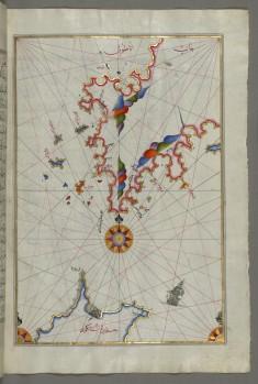 Map of the Anatolian Coast Facing the Island of Cos