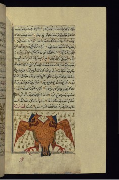 A Fabulous (Legendary) Bird Such as a Griffon or Simurgh
