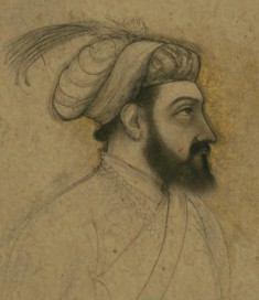 Single Leaf of a Portrait of Shah Jahan