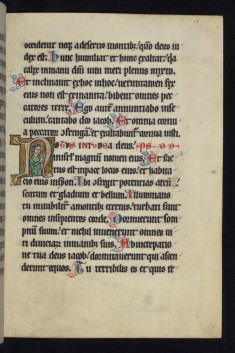 "Historiated Initial ""N"" with an Apostle"