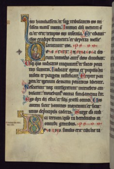"Historiated Initial ""D"" with a Jewish Priest"