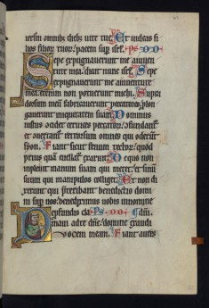 "Historiated Initial ""D"" with a Deacon"