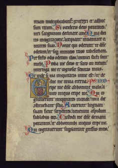 "Historiated Initial ""E"" with a Jewish Priest"