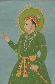 Single Leaf of a Portrait of the Emperor Jahangir