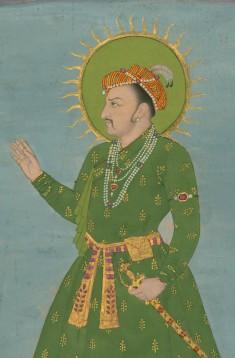 Single Leaf of a Portrait of the Emperor Jahangir
