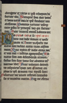 "Historiated Initial ""D"" with an Apostle"