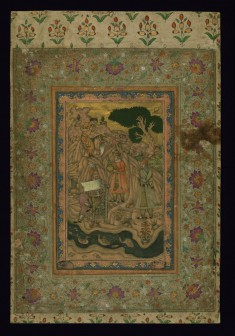 Mughal Emperor with a Document