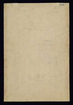 Mughal Emperor with a Document (Back)