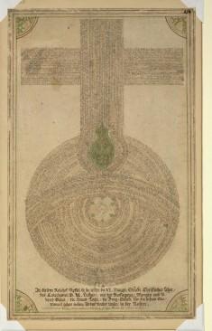 Single Leaf with Lutheran Devotional Design