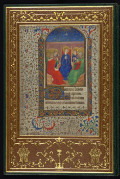 Two Detached Miniatures from a Book of Hours