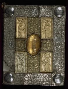 The Mondsee Gospels and Treasure Binding with the Evangelists and Crucifixion