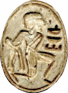 Scarab with Bound Captive