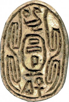 Scarab with Cartouche of King Sheshi