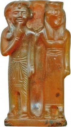 Goddess and Ramesses II