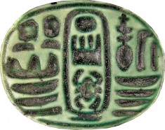 Scarab with the Cartouche of Thutmosis III