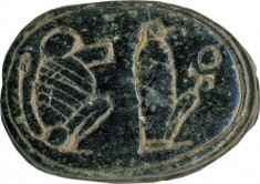 Scarab with Two Different Images of Thoth