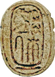Scarab with the Cartouche of Thutmose III