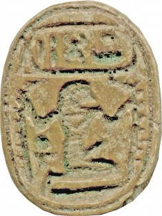Scarab with Cartouche of Thutmosis IV (1397-1388 BCE)