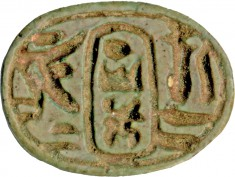 Scarab with the Throne Name of Thutmosis III