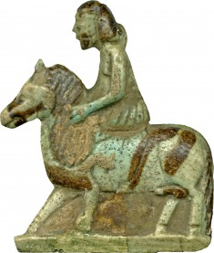 Man Riding Two Horses