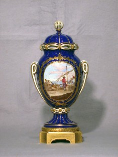 Potpourri Vase (Vase à ruban)