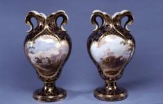 Pair of Vases (Vases à oreilles)