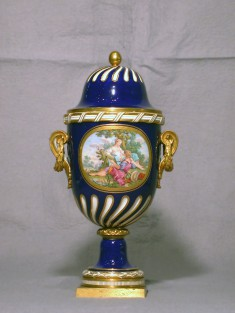 One of a Pair of Vases (Vase à feuilles de laurier)
