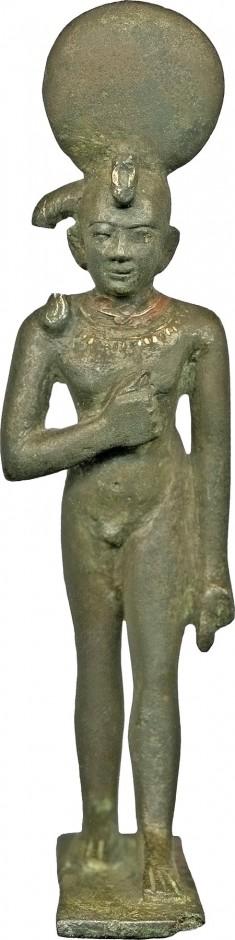 Juvenile God with a Sun Disk