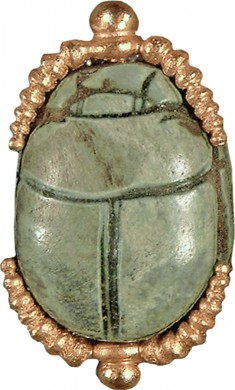 Scarab from Egyptian-Style Necklace