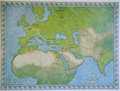Mosaic Map of the Mediterranean