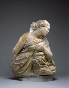 Leaning Muse, Probably Polyhymnia