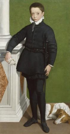 Portrait of Marquess Massimiliano Stampa