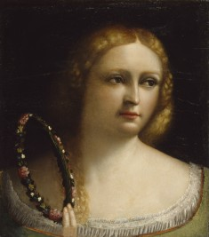 Woman with a Wreath-Crown