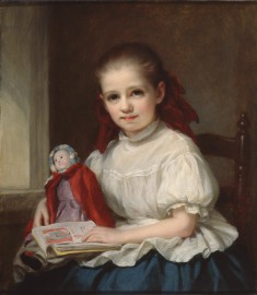 Portrait of Jennie Walters as a Little Girl