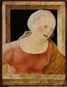 Head of a Mourning Woman