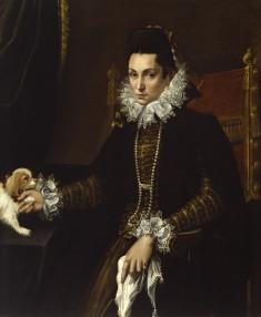 Portrait of Ginevra Aldrovandi Hercolani