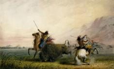 Killing Buffalo with the Lance
