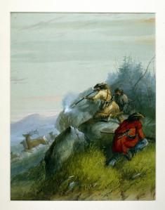 Hunting Elk among the Black Hills