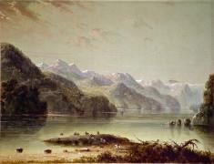 Lake Scene (Wind River Mountain)