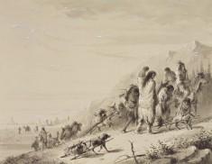 Pawnee Indians Migrating
