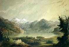 Lake Scene - Mountain of Winds