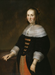 Portrait of a Woman (with her Husband)