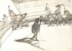 At the Circus: Free Horses