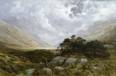 Landscape in Scotland