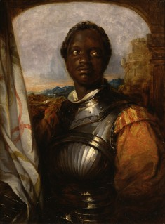 Ira Aldridge in the role of Shakespeare's Othello