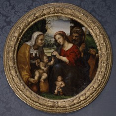 The Holy Family with Saint Elizabeth and the Infant Saint John the Baptist