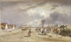 The Market at Szolnok, Hungary