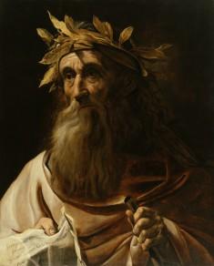 Portrait of the Poet Homer