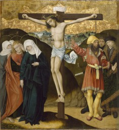 Altarpiece with the Passion of Christ: Crucifixion